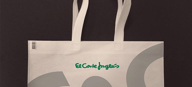 El Corte Inglés certifica el 100% de sus bolsas de plástico como sostenibles y reutilizables