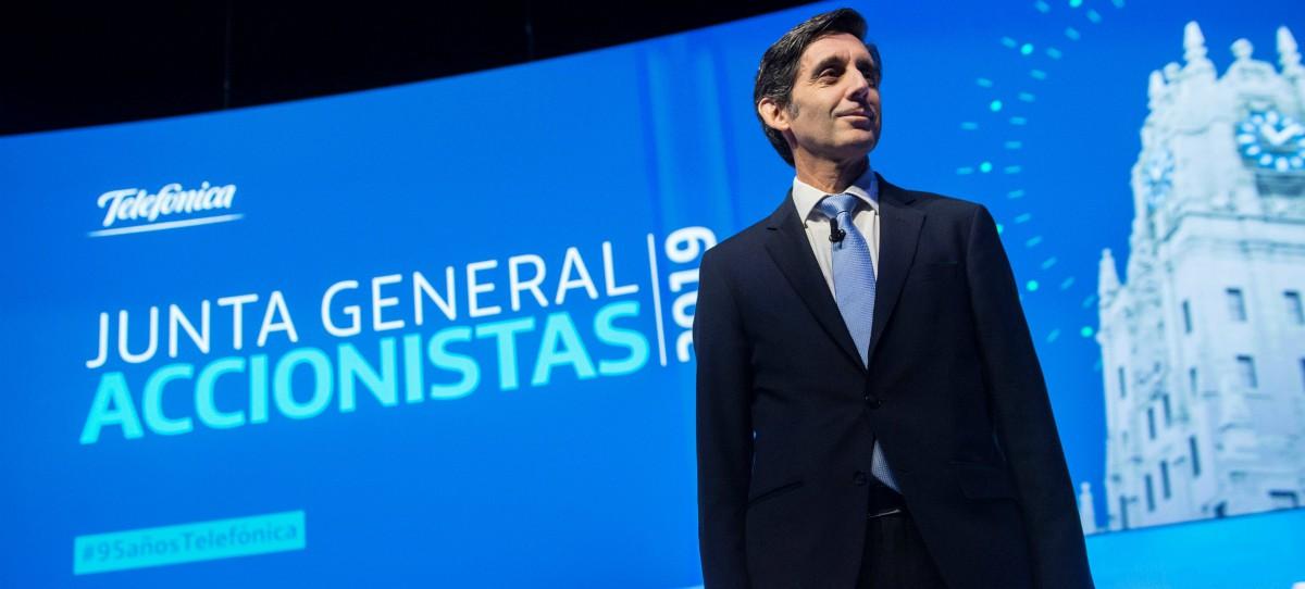 José María Álvarez-Pallete: 'Telefónica tiene un potencial en Bolsa del 22%'