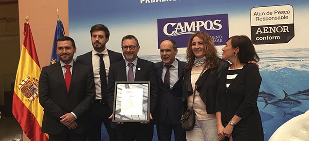 AENOR entrega los primeros certificados de Atún de Pesca Responsable del mundo