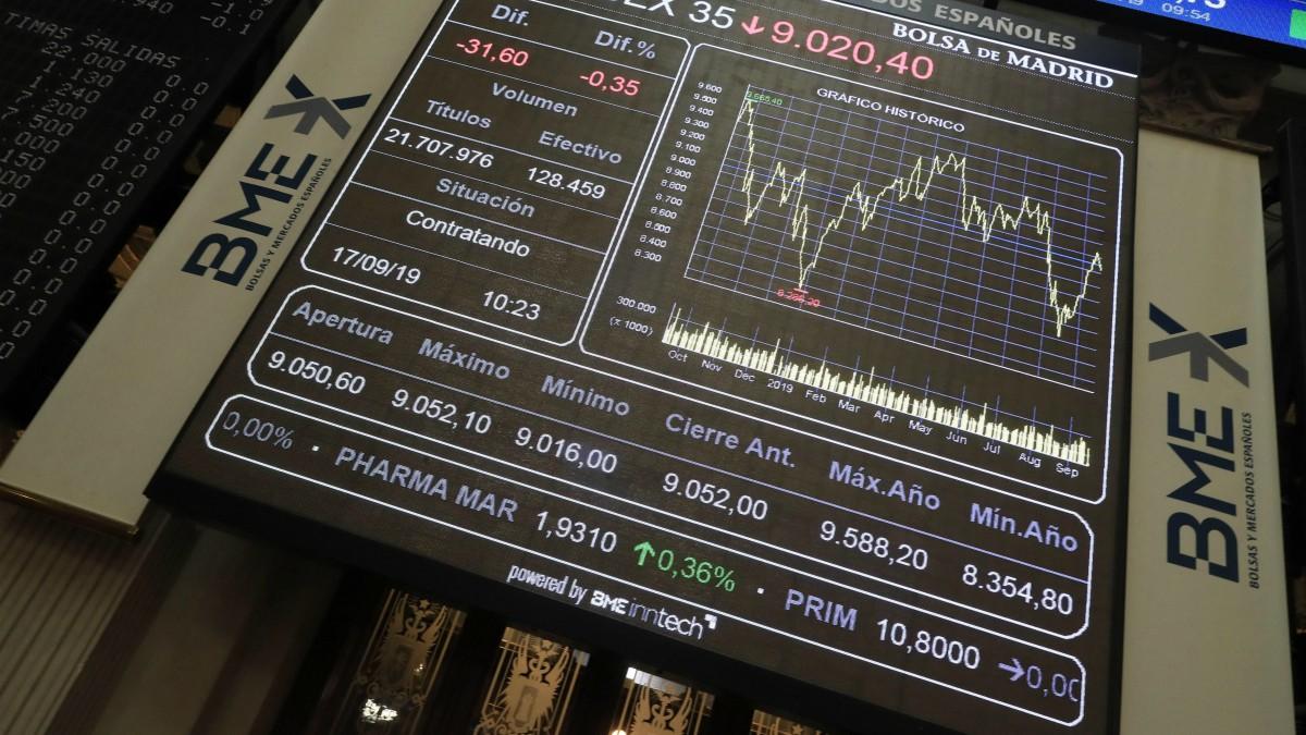 Wall Street baja por temor a virus chino y resultados empresariales decepcionantes