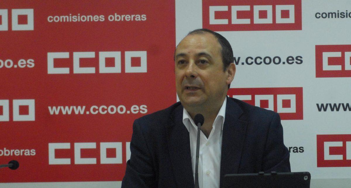 CCOO: 'Lo lógico es que no hoy no haya subida de las pensiones y se posponga hasta que haya investidura'