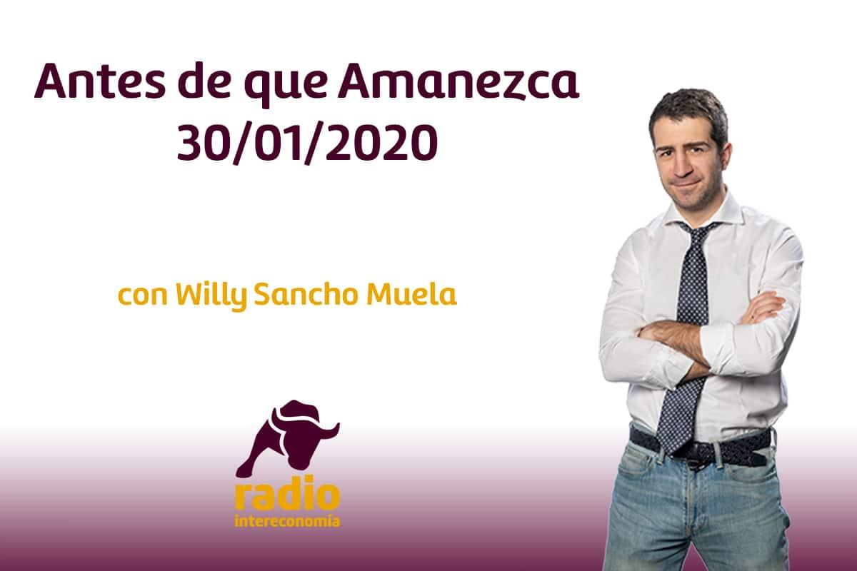 Antes de que Amanezca 30/01/2020