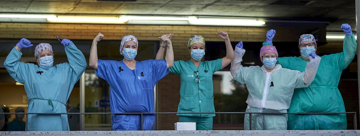 Día 41: Diario del estado de alarma; Sanidad doblega la curva tras cambiar el sistema de recuento de contagiados