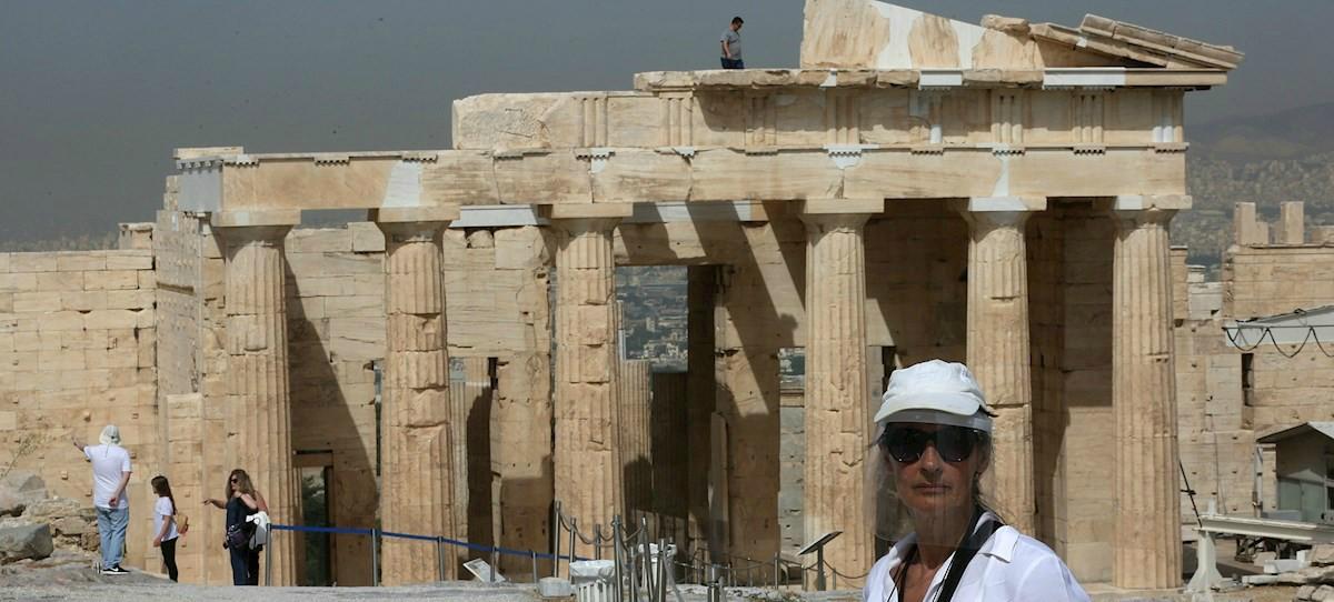 Grecia se vuelca con el turismo y empezará a recibir extranjeros sin cuarentena desde el 1 de julio