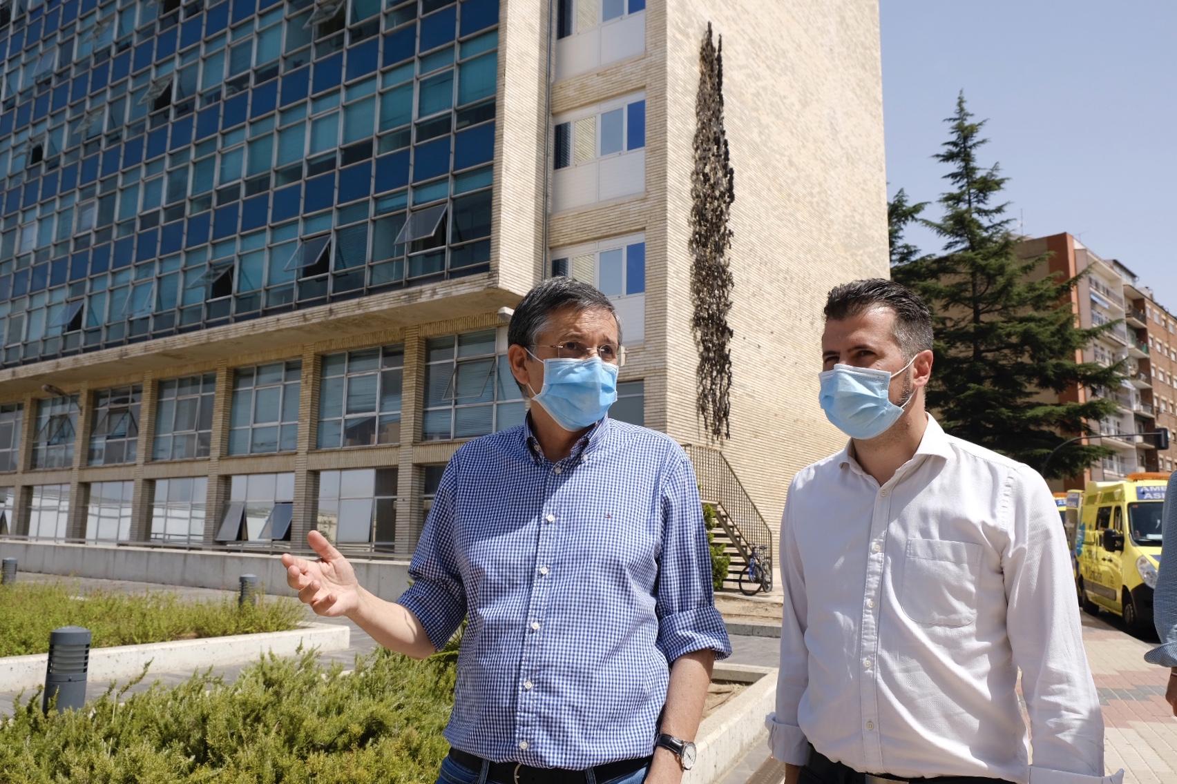 Tudanca exige que el nuevo Hospital de Salamanca arranque lo antes posible