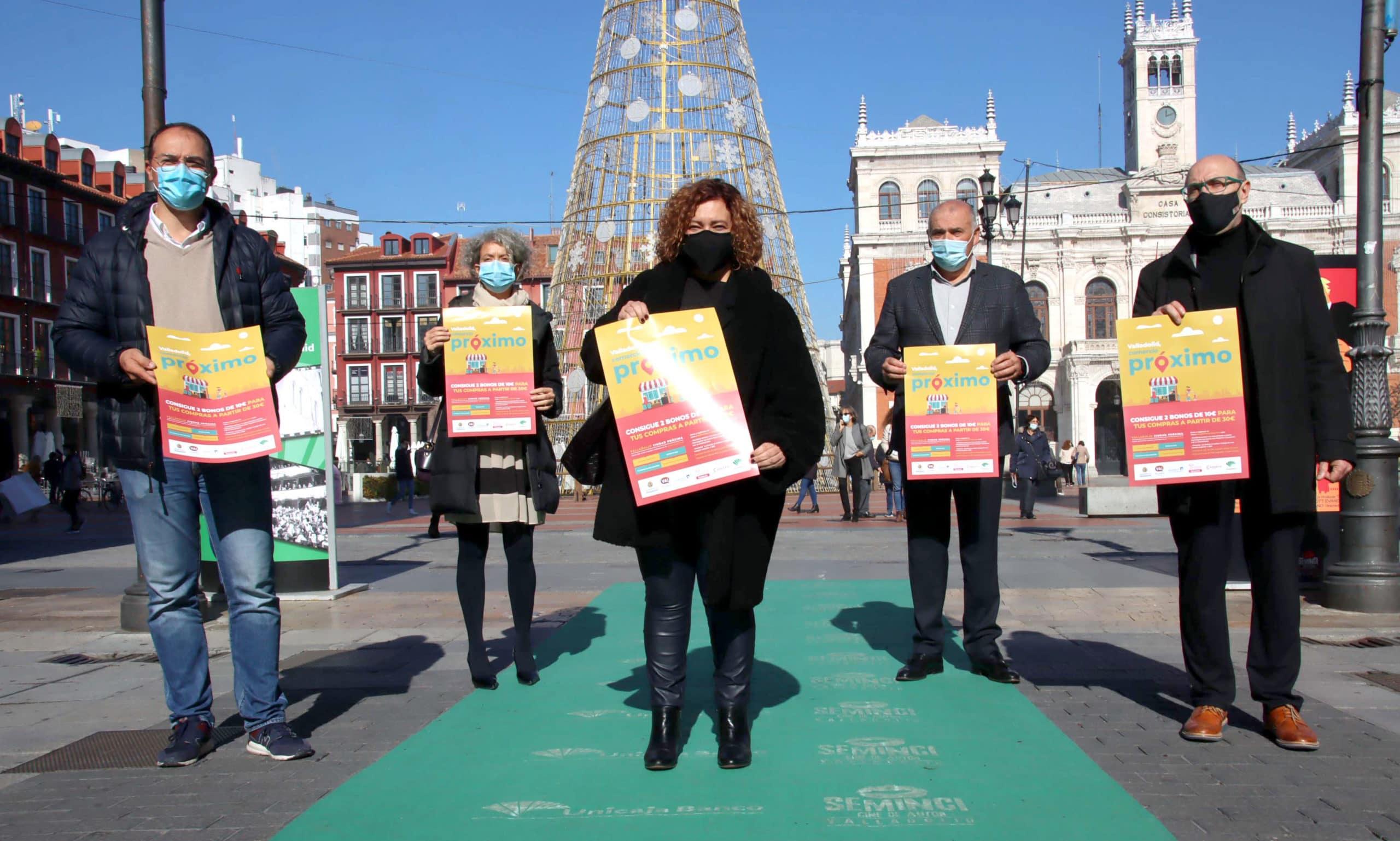 Valladolid se anticipa a los Reyes y recupera la campaña de apoyo al comercio