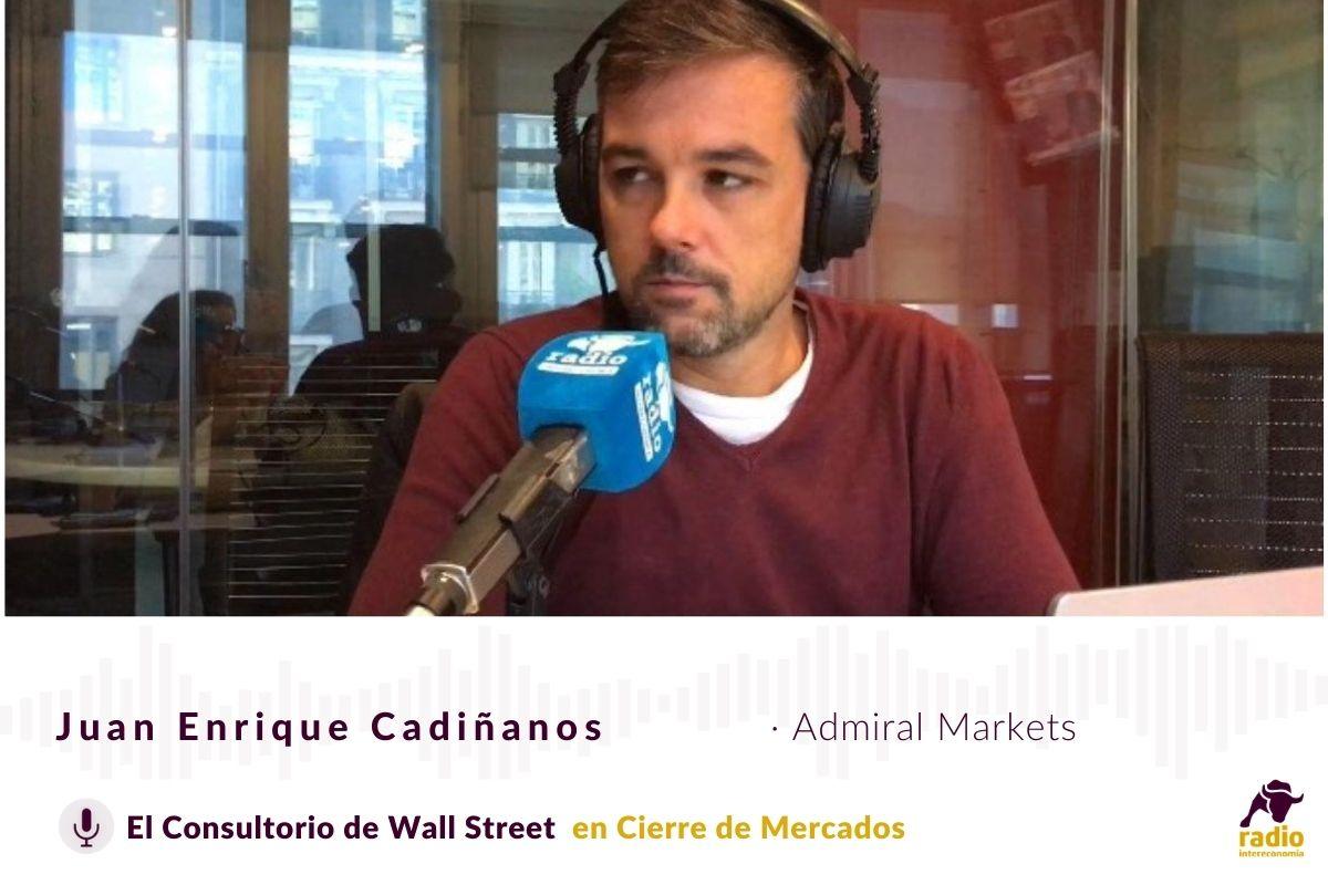 Consultorio de Wall Street con Juan Enrique Cadiñanos de Admirall Markets 13/10/2020