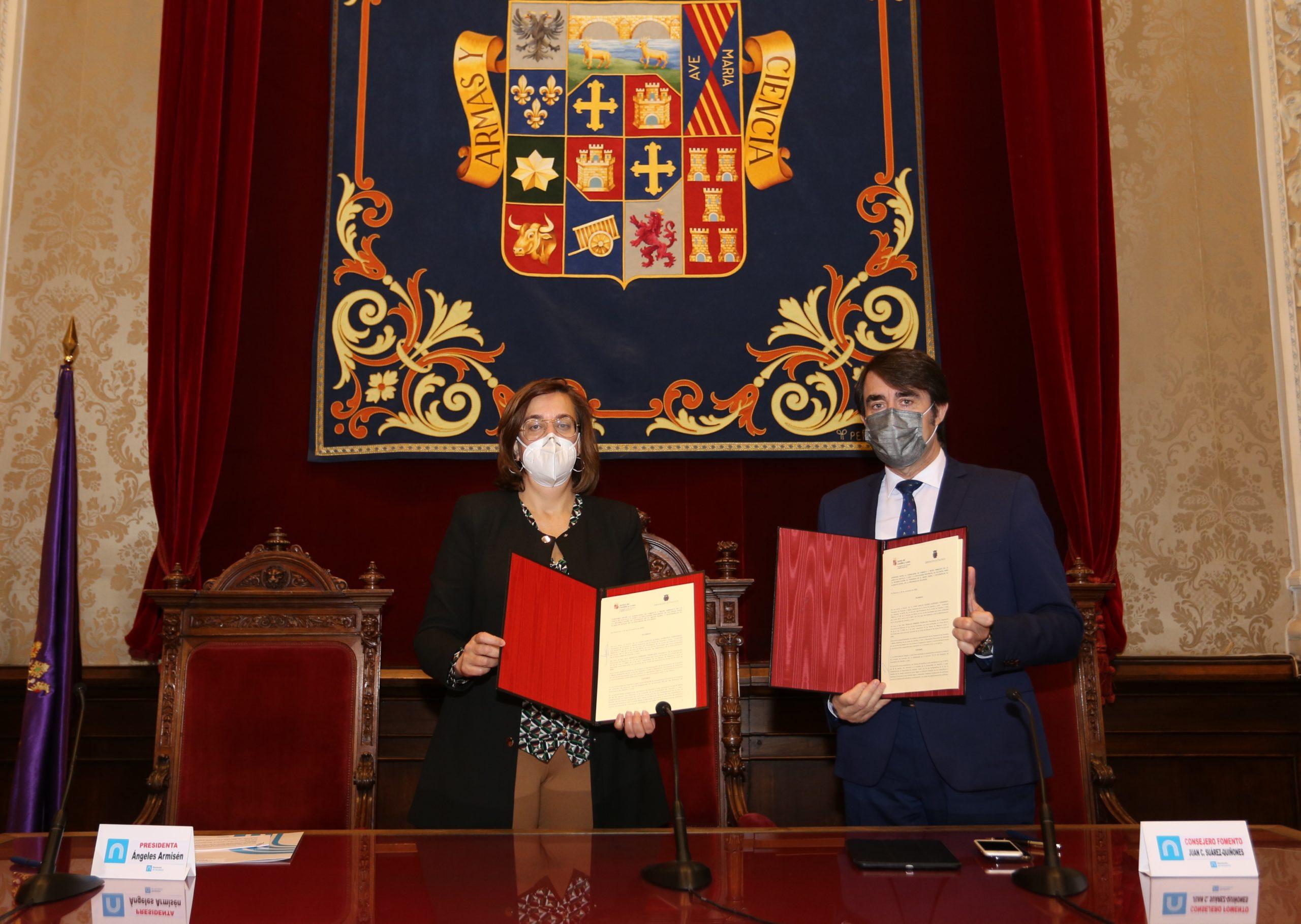 Fomento y Diputación de Palencia destinarán 1,4 millones al programa «Rehabitare»