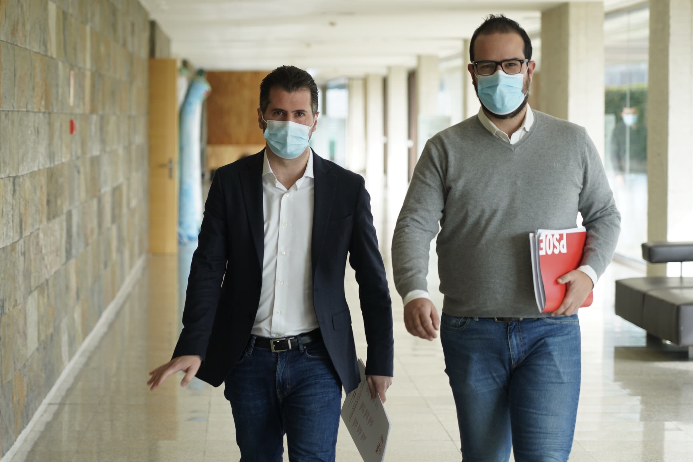 Tudanca acusa a Mañueco e Igea de usar «la confrontación para tapar sus errores»