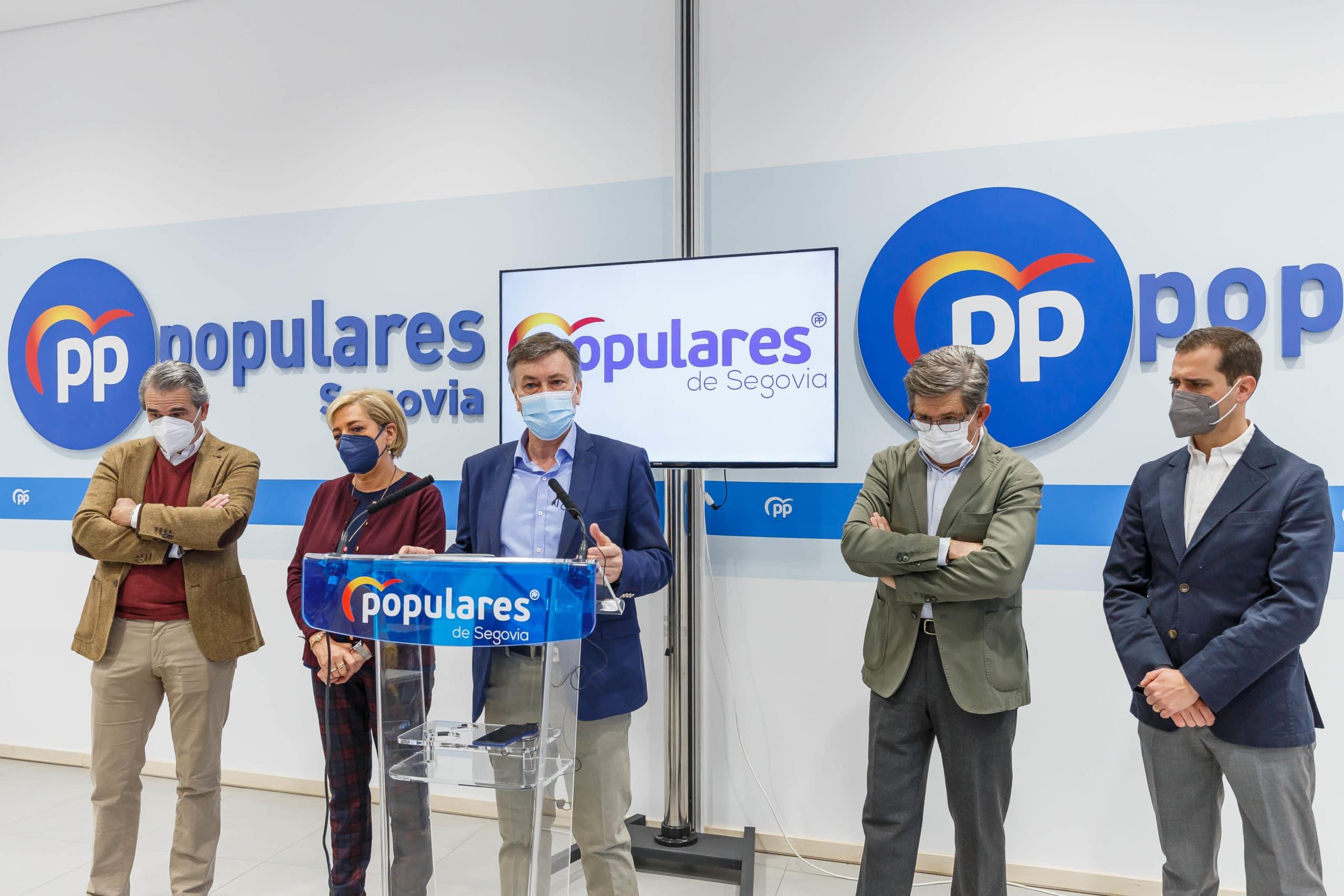 Vázquez (PP) defiende la solidez del pacto y niega que estén captando dirigentes de Cs