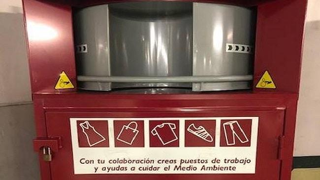 El Corte Inglés entrega a 240.000 kg de ropa usada a Cáritas