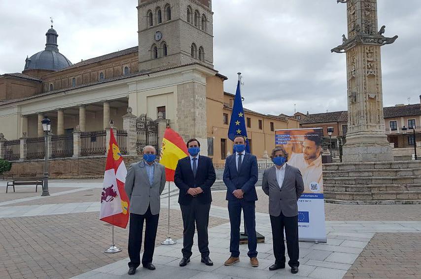 Villalón de Campos celebra Día de Europa mirando al medio rural