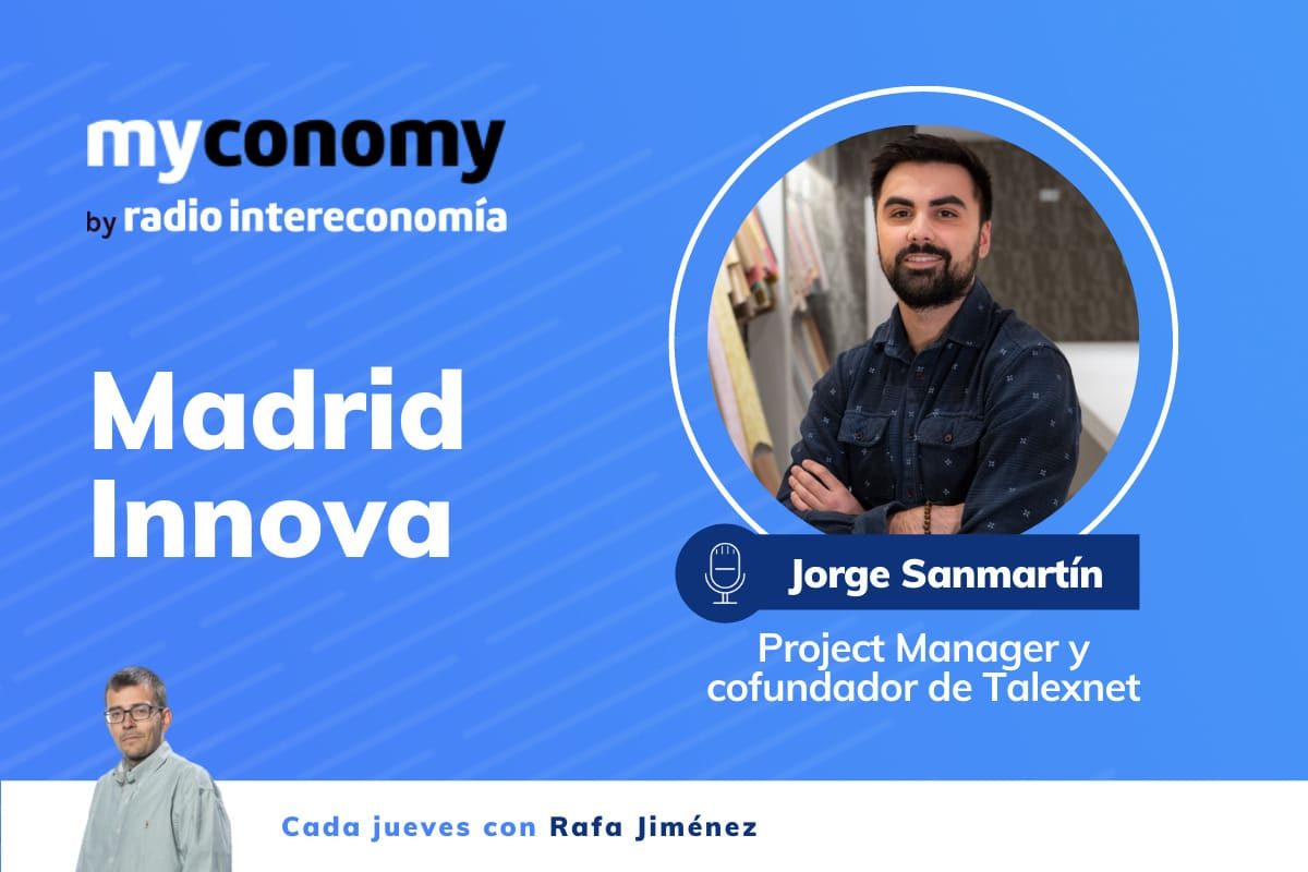 Jorge Sanmartín, Project Manager y cofundador de Texlenet