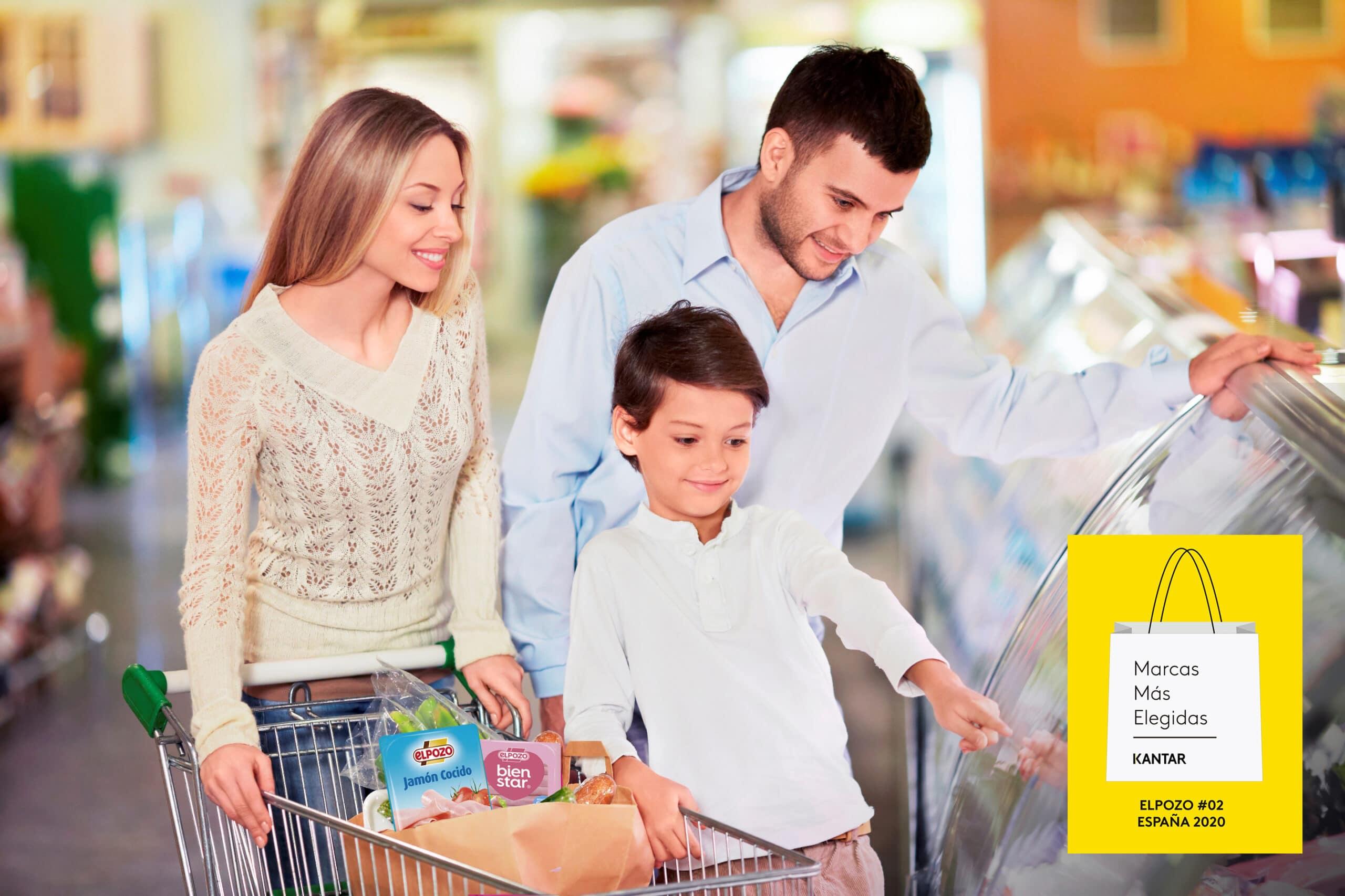 ElPozo es la marca más presente en los hogares españoles por sexto año consecutivo